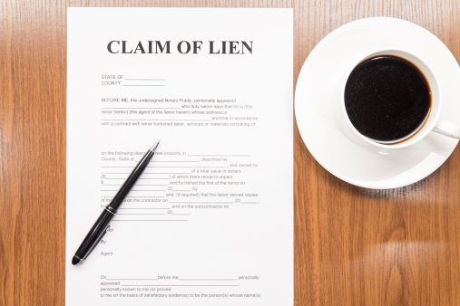 Claim of Lien