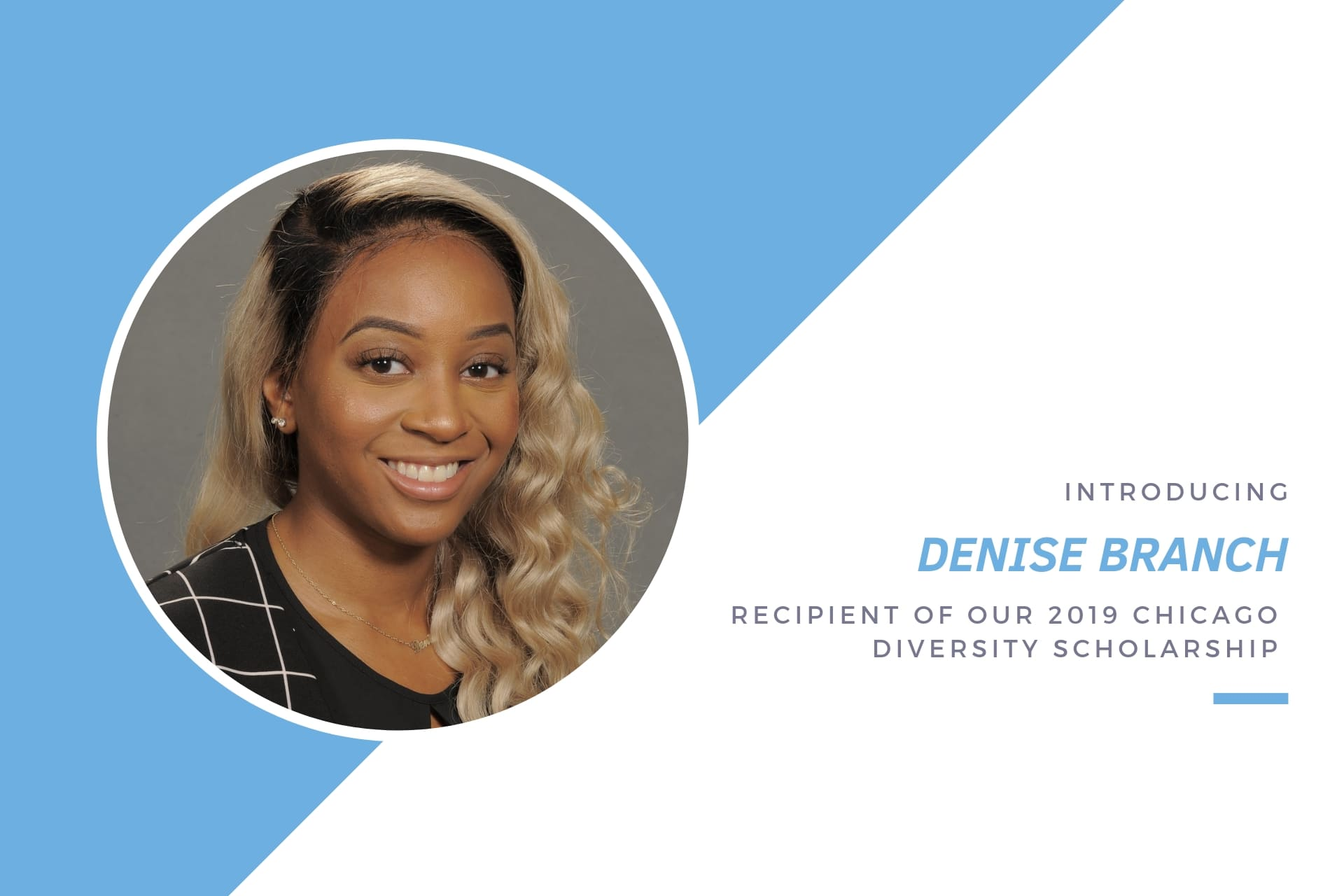 Denise Branch, Barnes & Thornburg diversity scholarship