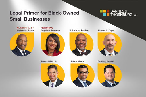 Legal Primer for Black-Owned Small Businesses