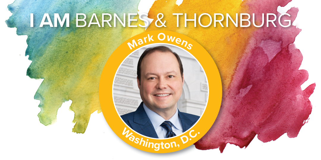 Mark Owens - I Am Barnes & Thornburg