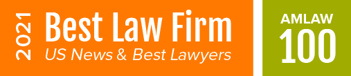 2020 Best Law Firm, AmLaw 100